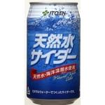 【2011年12月29日17時までのご注文は年内出荷】伊藤園 天然水サイダー 缶 350ml×48本セットの詳細ページへ