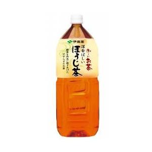 伊藤園 お〜いお茶 深香ばしいほうじ茶 2L×12本セット