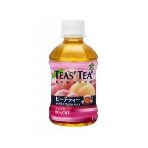 伊藤園 TEAS' TEA ピーチティー PET280ml×48本セット