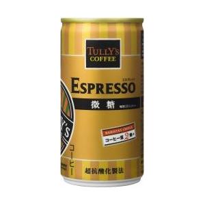 TULLY'S ESPRESSO 微糖 190ml×60本セット