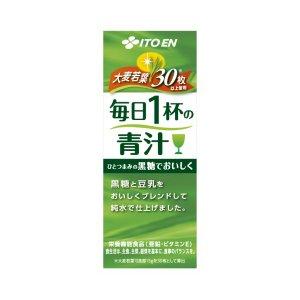 伊藤園 紙パック 毎日1杯の青汁200ml×72本セット