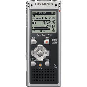 OLYMPUS(オリンパス) リニアPCM対応 ICレコーダー Voice-Trek(ボイストレック) V-85-BLK ブラック