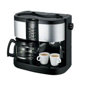 デバイスタイル ハイブリッド エスプレッソ コーヒーメーカー deviceSTYLE Brunopasso[ HA-W120 ]
