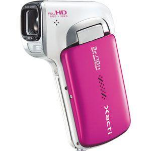 サンヨー 防水フルハイビジョンムービーカメラ(ピンク) SANYO Xacti(ザクティ)DMX-CA100[ DMX-CA100-P ]