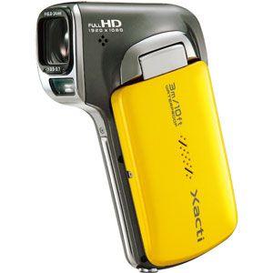 サンヨー 防水フルハイビジョンムービーカメラ(イエロー) SANYO Xacti(ザクティ)DMX-CA100[ DMX-CA100-Y ]