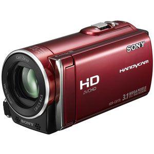 ソニー 32GB内蔵フラッシュメモリー+メモリーカード録画対応ハイビジョンビデオカメラ(レッド) SONY CX170[ HDR-CX170-RC ]