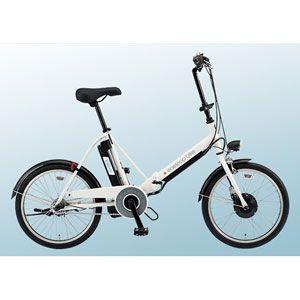 サンヨー 電動ハイブリッド折りたたみ自転車 20型 [ CY-SPJ220-W ]