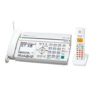 Panasonic(パナソニック) デジタルコードレス普通紙FAX(子機1台付き)ホワイト おたっくす KX-PW520DL-W