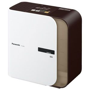 Panasonic(パナソニック) ハイブリッド(加熱気化)式加湿機(木造8畳まで/プレハブ洋室13畳まで ダークブラウン) FE-KLF05-T