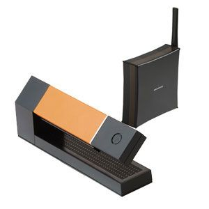 amadana(アマダナ) デジタルコードレス留守番電話機 ブラック