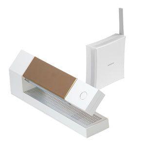 amadana(アマダナ) デジタルコードレス留守番電話機 ホワイト