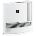 SHARP(シャープ) HX-129CX-W 加湿セラミックファンヒーター(ホワイト系) 【暖房器具】SHARP プラズマクラスター搭載