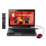 東芝 ノートパソコン Dynabook(ダイナブック) Qosmio PT750T8ABFR T750シリーズ レッド