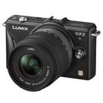 Panasonic(パナソニック) デジタル一眼カメラ ダブルレンズキット エスプリブラック DMC-GF2W-Kの詳細ページへ