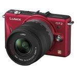 Panasonic(パナソニック) デジタル一眼カメラ ダブルレンズキット ファインレッド DMC-GF2W-Rの詳細ページへ