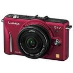 Panasonic(パナソニック) デジタル一眼カメラ レンズキット ファインレッド DMC-GF2C-Rの詳細ページへ