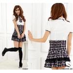 コスプレ フリルスカートの学生服*セーラー服*OL服 6060