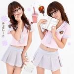 コスプレ 学生服*ミニスカートの制服コスプレ 6061
