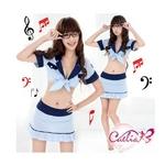コスプレ 【学生服】青の女子制服コスプレ 6054
