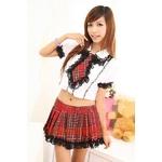 コスプレ 【学生服】大きいリボンの女子制服/コスプレ 6013