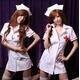 コスプレ 白の看護婦のナースコスプレ*コスチューム 5111