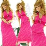 ロングドレス きらきら星屑ラインストーン【バックル付き】 チェリーピンクの詳細ページへ