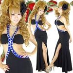 ロングドレス ビーズ付きセクシードレス ロイヤルブルーの詳細ページへ