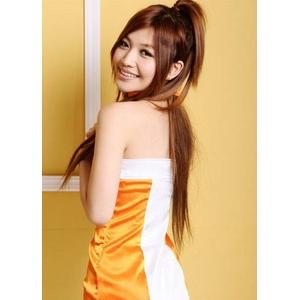 2011年新作 コスプレ 魅惑のレースクィーン・オレンジ