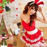 コスプレ 2011年新作 クリスマス☆サンタクロースコスプレセット s006 /コスチューム/