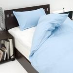 15色から選べる BOXシーツ(ベッドカバー)セミダブル エンジェルホワイト