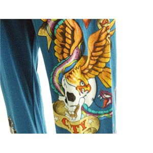 ed hardy(エドハーディー) pants new york men's blue L