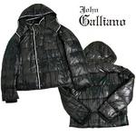 John Galliano(ジョンガリアーノ) メンズ ダウンジャケット/ダークグレー 2011年秋冬新作
