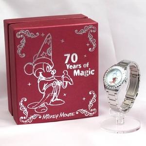 【映画ファンタジア ディズニー公開70周年記念限定ウォッチ】ミッキーマウス 腕時計 MJMC-005 【オリジナルBOX入り】★「ファンタジア」DVDつき