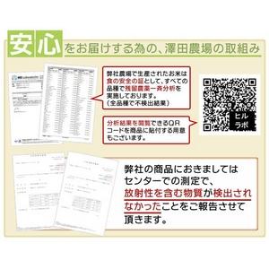 【平成22年産新米】 澤田農場の新潟県上越産コシヒカリ白米 10kg(5kg×2袋)