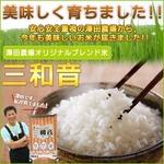 【平成22年産新米】 澤田農場のオリジナルブレンド米(三和音)玄米 30kg(5kg×6袋)