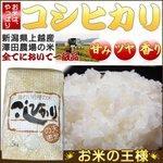 【特別価格】平成24年産 澤田農場の新潟県上越産コシヒカリ白米 5kgの詳細ページへ