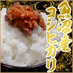 【平成22年産新米!】中村農園の魚沼産コシヒカリ白米30kg(5kg×6袋)