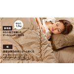 帝人共同開発 マイティトップ(R)II使用 清潔・快適寝具 シングル 4点セット アイボリー