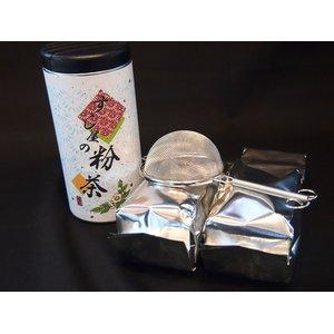 上質 すし屋の粉茶