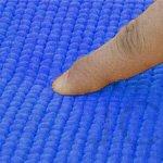ヨガマット 厚さ8mm ブルー
