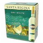 チリ産 白ワイン サンタ・レジーナ ドライホワイト3L×2本とカベルネ ソーヴィニヨン3L×2本のセット(合計4本)