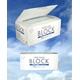3層サージカルマスク「BLOCK」50枚入り 婦人・子供用サイズ カラー:ホワイト(三層不織布)