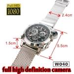 【電丸】【小型カメラ】【16GB内蔵】防水60m fullHD画質 腕時計型フルハイビジョンカメラ【W040】