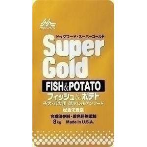 森乳サンワールド スーパーゴールド フィッシュ&ポテト 8kg 141010