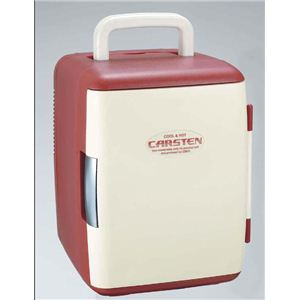 カーステン 2電源式温冷蔵庫 CS-02 レッド