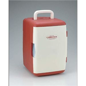 カーステン 2電源式温冷蔵庫 CS-01 レッド