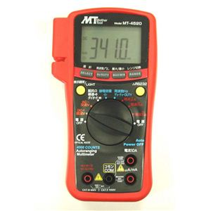 マザーツール MT-4520 PC対応デジタルマルチメータ