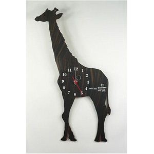SHADOW W(掛け時計) YK10-104 キリン