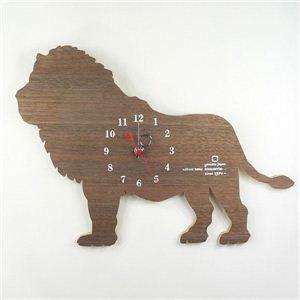 SHADOW W(掛け時計) YK10-104 ライオン