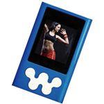 RI-JAPAN デジタルオーディオプレーヤー MUP3-4G BL・ブルー